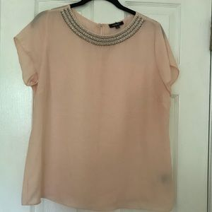 Premise Tops - Gorgeous LT pink blouse